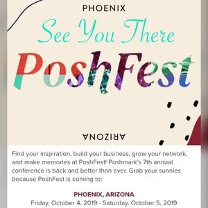 POSHFEST 2019 ARIZONA OCT 4-5
